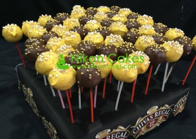 Chivas Regal Cake Pops