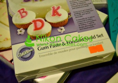 Gum Paste and Fondant Mold Set
