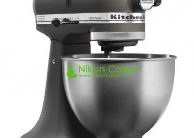 Gray Kitchen Aid Mixer