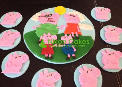 Peppa Pig Toppers