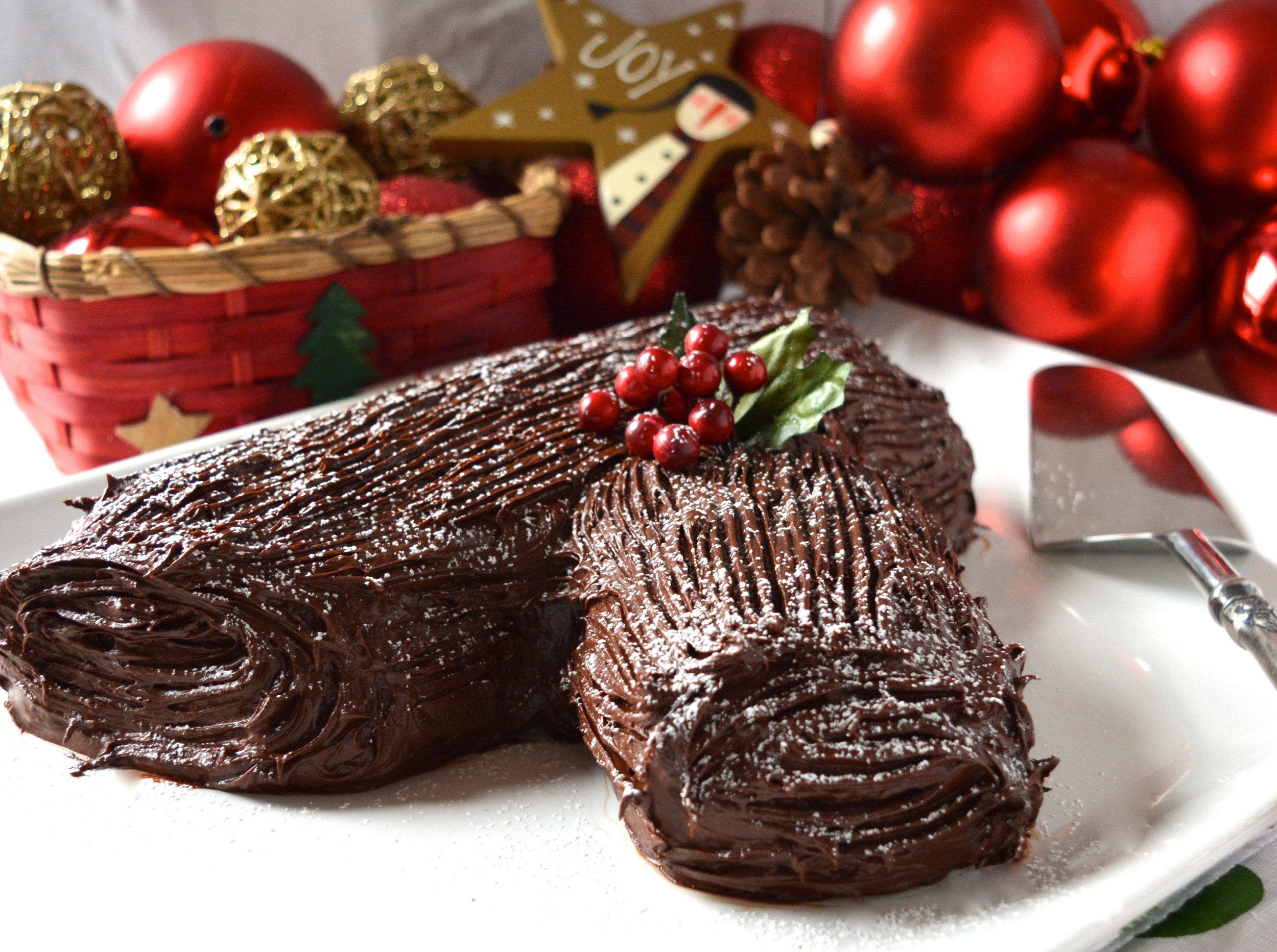 The Yule Log – A For...